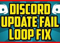 Дискорд не может обновиться «discord update failed»