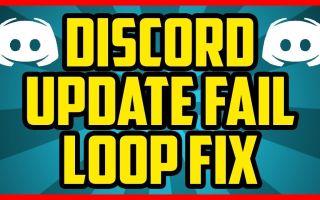 "Дискорд не может обновиться ""discord update failed"""