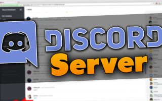 Создание сервера Discord